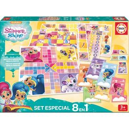 Shimmer and Shine Game set 8 in 1