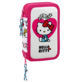 Plumier Hello Kitty Girl Gang doble 28pzs