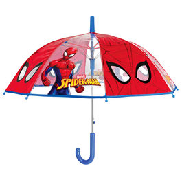 Marvel Spiderman automatic transparent bubble widproof umbrella 45cm