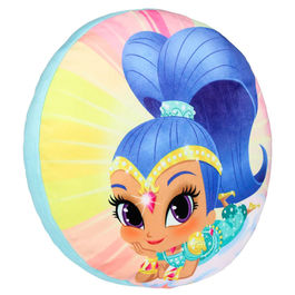 Shimmer and Shine shaped 3D cushion