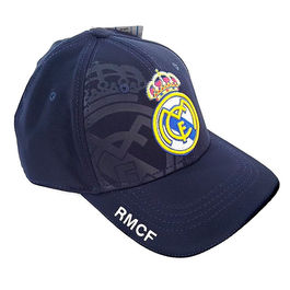 Gorra Real Madrid azul adulto