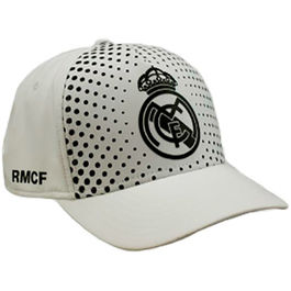 Gorra Real Madrid blanco adulto
