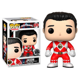 Figura POP Power Rangers Red Ranger Jason No Helmet series 7