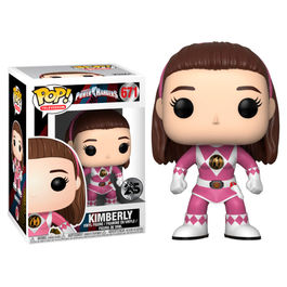 Figura POP Power Rangers Pink Ranger Kimberly No Helmet series 7