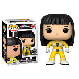 Figura POP Power Rangers Yellow Ranger Trini No Helmet series 7