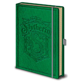 Cuaderno A5 Slytherin Harry Potter