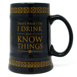 Jarra Drink & Know Things Juego de Tronos