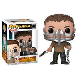 Figura POP Mad Max Fury Road Max with Cage Mask Exclusive