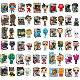 Pack oferta Funko Exclusives ¡6,99€ x unidad!