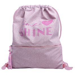 Saco Marshmallow Shine in Pink 44cm