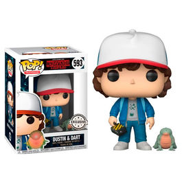 Figura POP Stranger Things Dustin with Baby Dart Exclusive