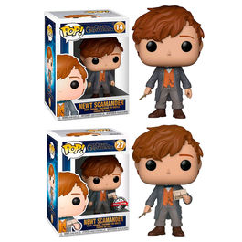 Figura POP Fantastic Beasts 2 The Crimes of Grindelwald Newt 5 + 1 Chase