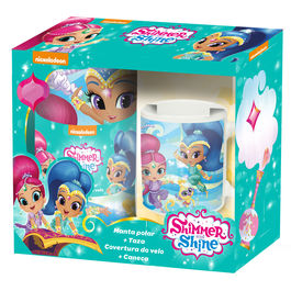 Shimmer and Shine mug + blanket