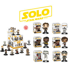 Pack 12 Mystery Minis + 12 POPs Star Wars Solo ¡4,50€ x unidad!