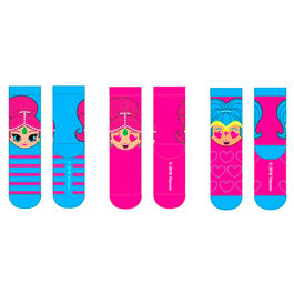 Shimmer and Shine assorted socks pack 3