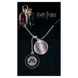 Colgante placas identificacion Ministry of Magic Harry Potter
