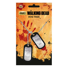 Colgante placas identificacion Walker Hunter The Walking Dead