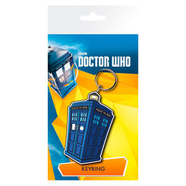 Llavero rubber Tardis Illustration Doctor Who
