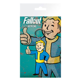 Llavero rubber Vault Boy Thumbs Up Fallout 4