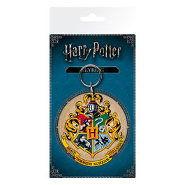 Llavero rubber Hogwarts Crest Harry Potter