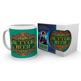 Taza Butter Beer Animales Fantasticos 2