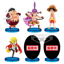 Figura Battle of Luffy Whole Cake Island One Piece Collectable 7cm surtido