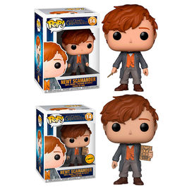 Figura POP Fantastic Beasts 2 The Crimes of Grindelwald Newt Scamander 5 + 1 Chase