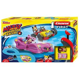 Circuito Carrera First Minnie Mickey Roadster Racers Disney