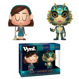 Figuras Vynl Shape of Water Elisa & Amphibian Man