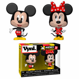 Figuras Vynl Disney Mickey & Minnie
