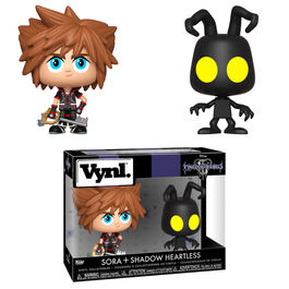 Figuras Vynl Disney Kingdom Hearts 3 Sora & Heartless
