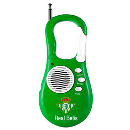 Radio portatil Real Betis mosqueton