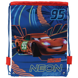 Bolsa portameriendas Cars Disney Neon Speed