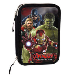 Plumier Vengadores Avengers Marvel Mighty doble
