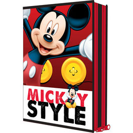 Plumier Mickey Disney doble