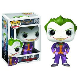 Figura POP DC Batman Arkham Asylum Joker