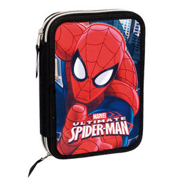 Plumier Spiderman Marvel Ultimate doble