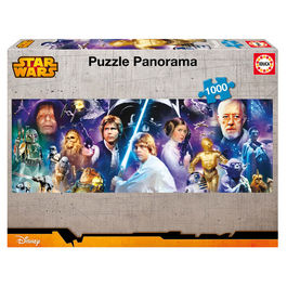 Puzzle Star Wars panorama 1000pz