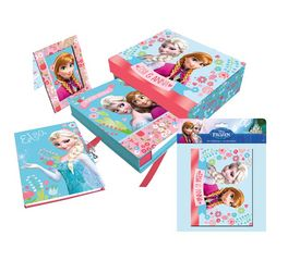 Set diario marco y album Frozen Disney