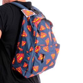 Mochila Superman DC comics logo