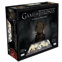 Puzzle 4D Game of Thrones Westeros