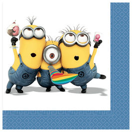 Pack 20 servilletas papel Minions