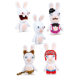 Peluche Raving Rabbids Show Time T3 surtido