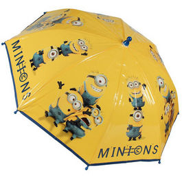 Paraguas Minions Friends manual
