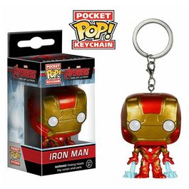 Llavero Pocket POP Iron  Man Vengadores Avengers Age of Ultron