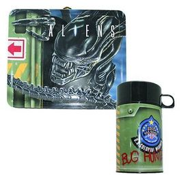 Set sandwichera cantimplora termo Aliens Marines Coloniales
