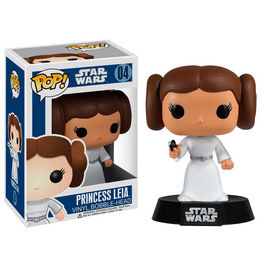 Figura POP Vinyl Bobble Princesa Leia Star Wars