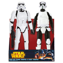 Set figuras Star Wars Stormtrooper Scout 50cm