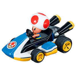 Nintendo Pull Speed Mario Kart 8 Toad car blister