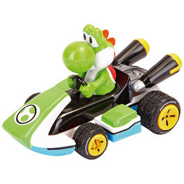 Nintendo Pull Speed Mario Kart 8 Yoshi car blister